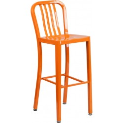 Stratos metal barstool