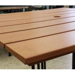 Outdoor table top Synteak