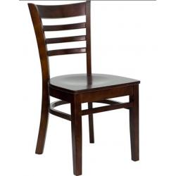 Wood BX restaurant chair